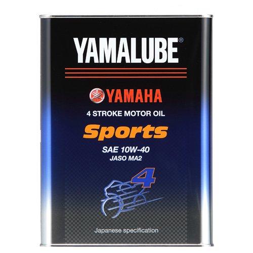 【WEB限定】ヤマルーブ スポーツ(MA2) 10W-40 4L 90793-32416 部分合成油