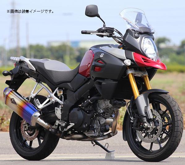 R'S GEAR 【WEB限定】ワイバンリアルスペック スリップオンマフラー V-STROM1000 ABS(EBL-VU51A)【通常3-4週間程度】