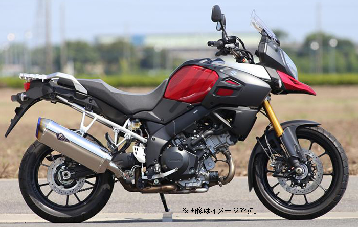 R'S GEAR 【Web会員限定】ワイバンリアルスペック スリップオン V-STROM1000 ABS(EBL-VU51A)【通常3-4週間程度】