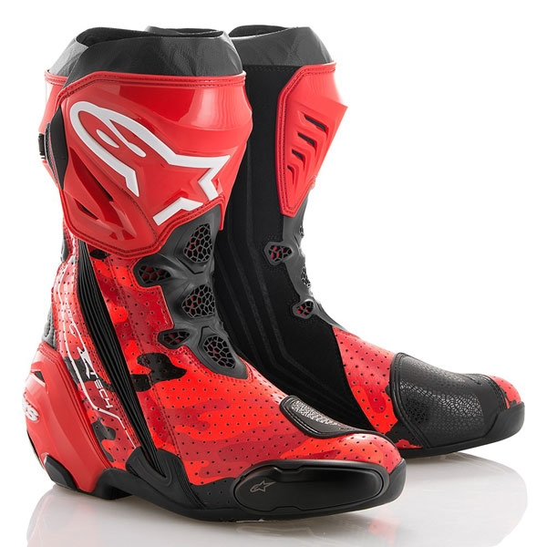 alpinestars 【数量限定】Limited Edition 99CAMO SUPERTECH R BOOTS 「ホルヘ・ロレンソ」
