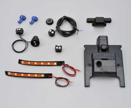 GIVI 後付けランプキット(LEDタイプ) E160