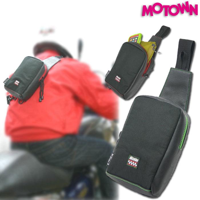 MOTOWN 【通販限定】PBB86-SR ポケットボディバッグ 容量:約1.6L 4995018013387