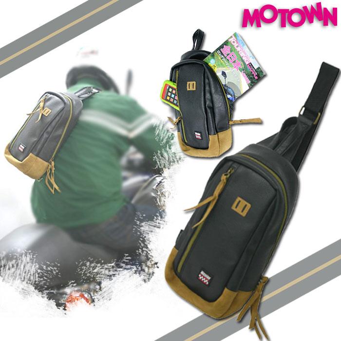 MOTOWN 【WEB限定】売り尽くし★CBB87-BK クラシックボディバッグ ブラック 4995018013394 容量:約5L