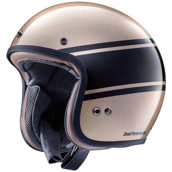 Arai (個別配送のみ 他商品との同梱配送不可)CLASSIC MOD BANDAGE【クラシック・モッド バンデージ】 ジェットヘルメット ブロンズ