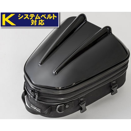 TANAX 〔WEB価格〕シェルシートバッグMT MFK-238 ブラック 4510819105224 容量:10~14L