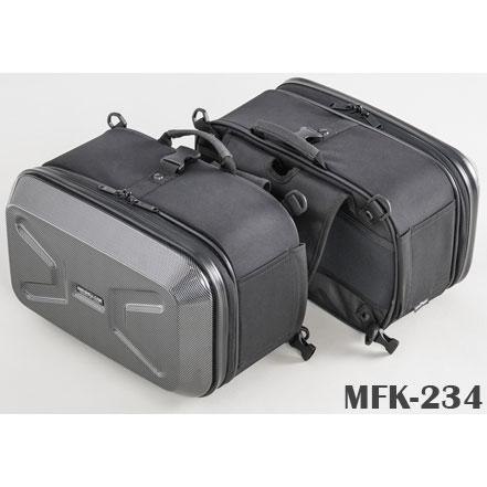 TANAX ミニシェルケース MFK-234 カーボン柄 4510819105187
