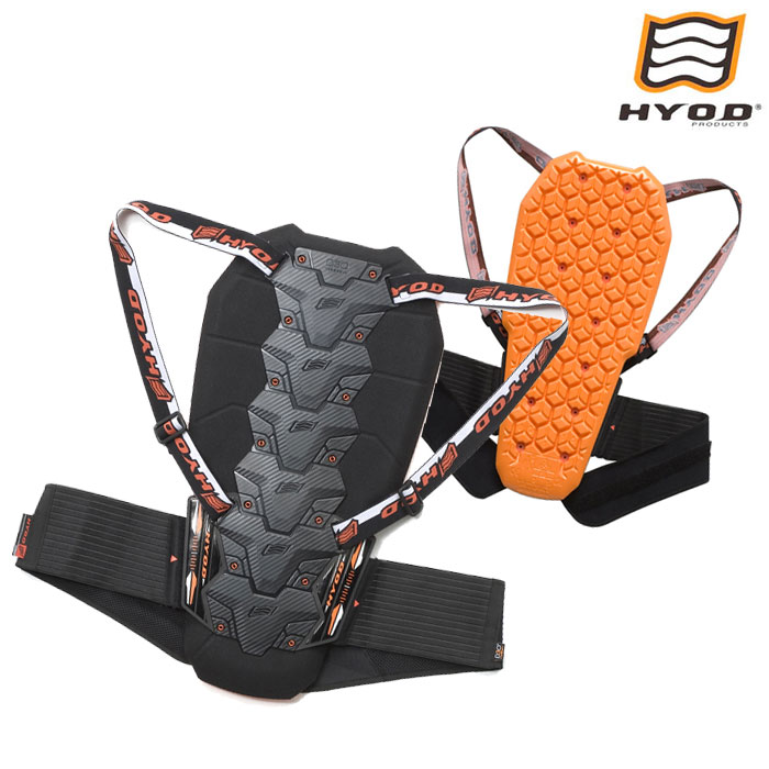 HYOD PRODUCTS HRZ907 DYNAMIC PRO D3O BACK PROTECTOR