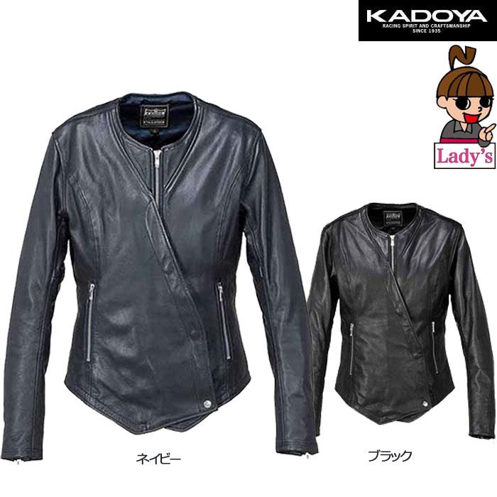 KADOYA 【レディース】 1180  KL-DORA レザージャケット (KL ドーラ)