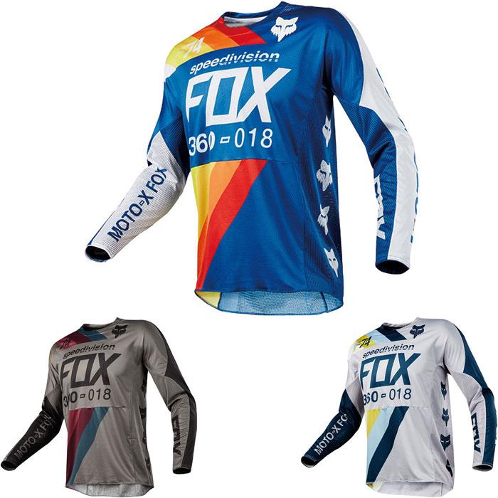FOX RACING 2018年モデル 360 ドラフター MXジャージ