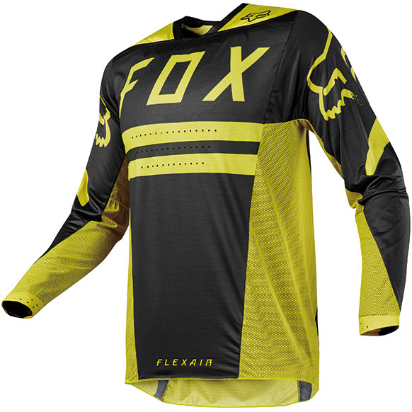 FOX RACING 〔WEB価格〕 2018年モデル フレックスエアー 2.0 プリースト MXジャージ ダークイエロー