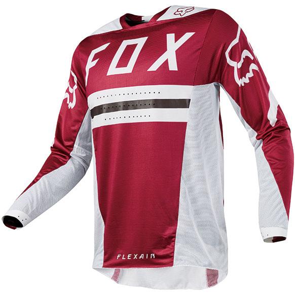 FOX RACING 〔WEB価格〕 2018年モデル フレックスエアー 2.0 プリースト MXジャージ ダークレッド