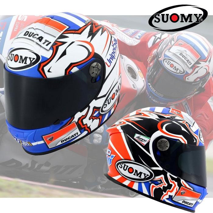 スオーミー 〔WEB価格〕SSR0033 SR-SPORT ドヴィジオーゾGP DUCATI【ロゴ有りバージョン】フルフェイスヘルメット