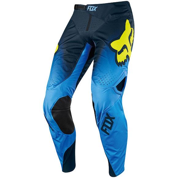 FOX RACING 〔WEB価格〕 2018年モデル 360 ビザ MXパンツ ブルー
