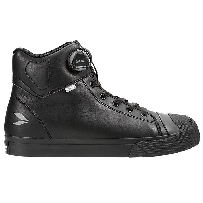 アールエスタイチ 〔WEB価格〕RSS009 OutDry BOA ライディングシューズ スニーカー 靴 バイク用 オールブラック ◆全6色◆