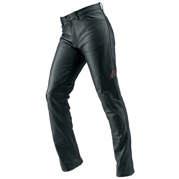 HYOD PRODUCTS ST-X Lite D3O LEATHER PANTS(RIDE-STRAIGHT) BLACK