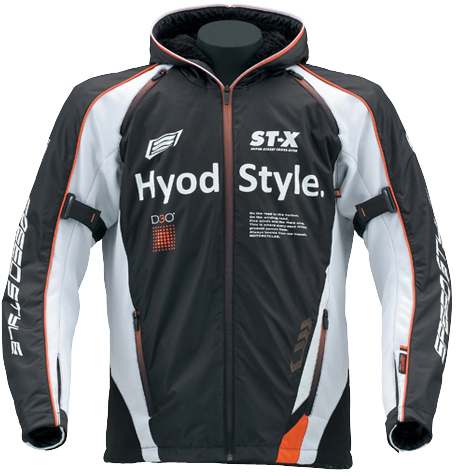 HYOD PRODUCTS 【10月下旬予定】ST-W Lite iD LITE D3O PARKA 『アイディライト』 BLACK/WHITE