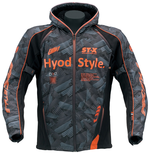 HYOD PRODUCTS 【10月下旬予定】ST-W Lite iD LITE D3O PARKA 『アイディライト』 BLACK GRAPHIC