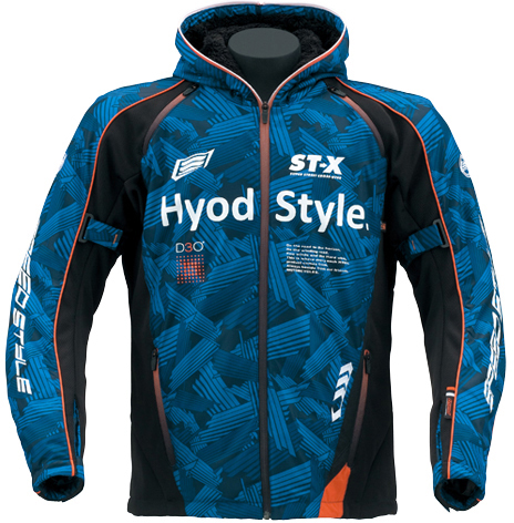 HYOD PRODUCTS 【10月下旬予定】ST-W Lite iD LITE D3O PARKA 『アイディライト』 BLUE GRAPHIC