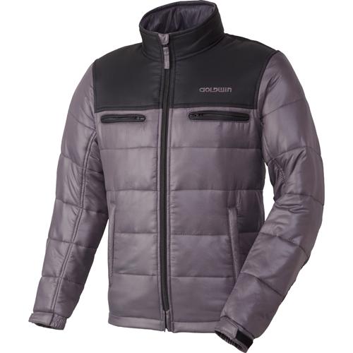 GOLDWIN 〔WEB価格〕GSM22758 GWS ウォームキルトジャケット 防寒 防風 ダークグレー(DH)◆全6色◆