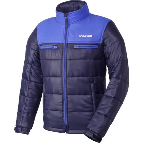 GOLDWIN 〔WEB価格〕GSM22758 GWS ウォームキルトジャケット 防寒 防風 ネービー(N)◆全6色◆