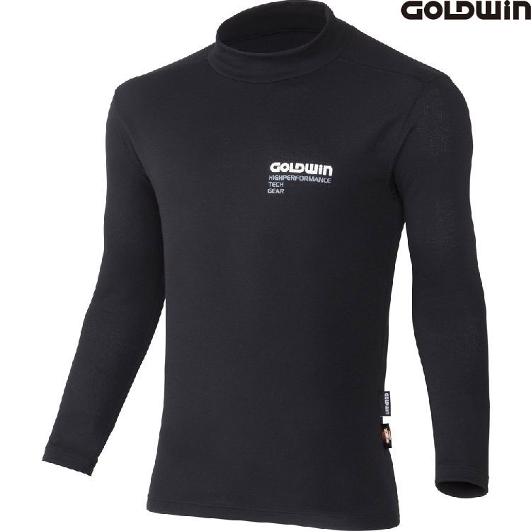 GOLDWIN 〔WEB価格〕GSM24756 光電子スーパーヘビーウエイトハイネックシャツ 防寒  吸汗速乾 インナー