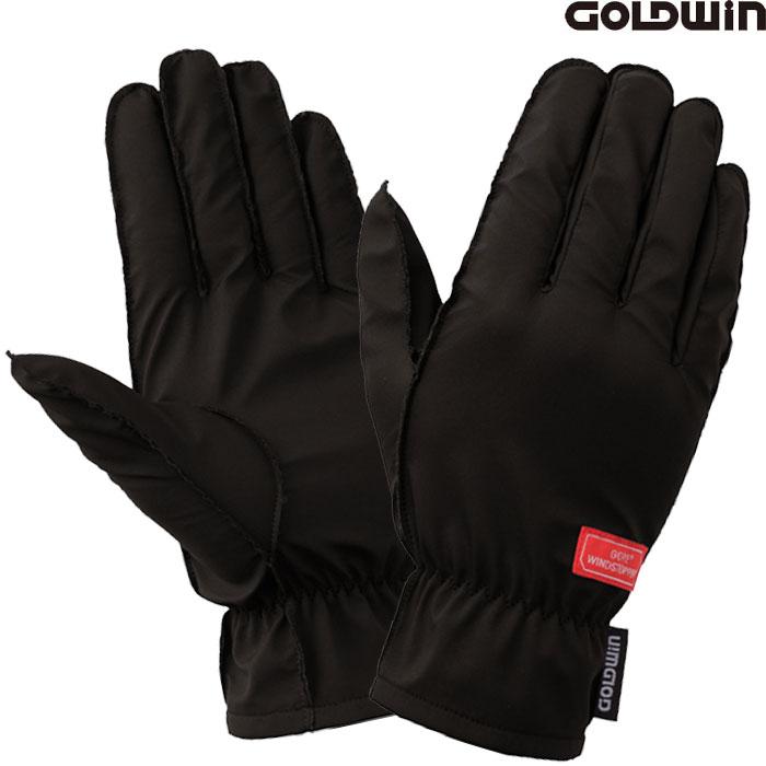 GOLDWIN 〔WEB価格〕GSM26758 ウインドストッパーインナーグローブ 防寒 防風 透湿