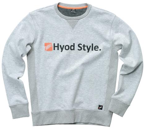 HYOD PRODUCTS 【11月予定】STU713 WIND BLOCK HEAT SWEAT SHIRTS