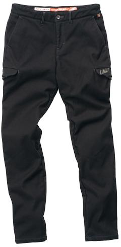 HYOD PRODUCTS D3O STYLISH CARGO PANTS WARM LAYERD BLACK