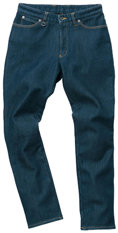 HYOD PRODUCTS D3O EASY RIDE PANTS WARM LAYERD INDIGO(one-wash)