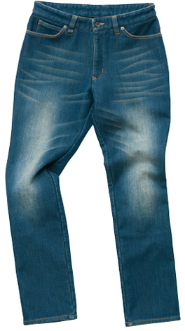 HYOD PRODUCTS D3O EASY RIDE PANTS WARM LAYERD INDIGO(aged-wash)