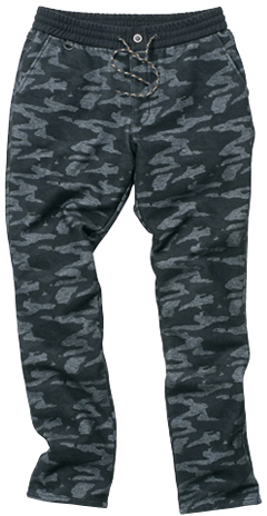 HYOD PRODUCTS D3O EASY RIDE CAMOUFLAGE PANTS WARM LAYERD BLACK CAMO