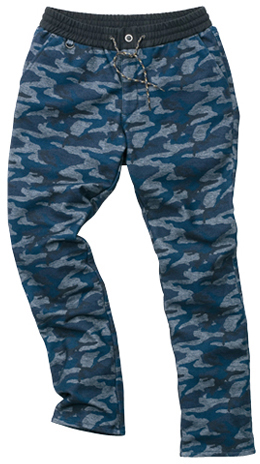 HYOD PRODUCTS D3O EASY RIDE CAMOUFLAGE PANTS WARM LAYERD NAVY CAMO