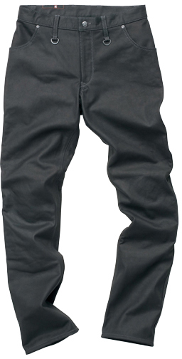 HYOD PRODUCTS SMART LEATHER D3O TAPERED PANTS 『テーパード』 BLACK