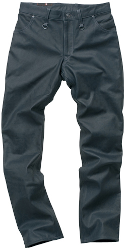 HYOD PRODUCTS SMART LEATHER D3O TAPERED PANTS 『テーパード』 NAVY