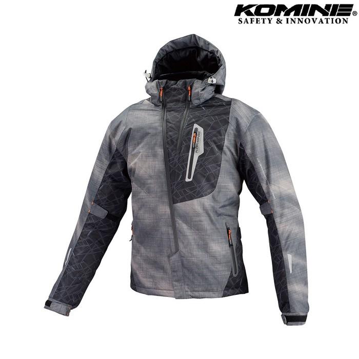 komine JK-589 プロテクトウインターパーカ ジャケット スモーク スモーク◆全6色◆