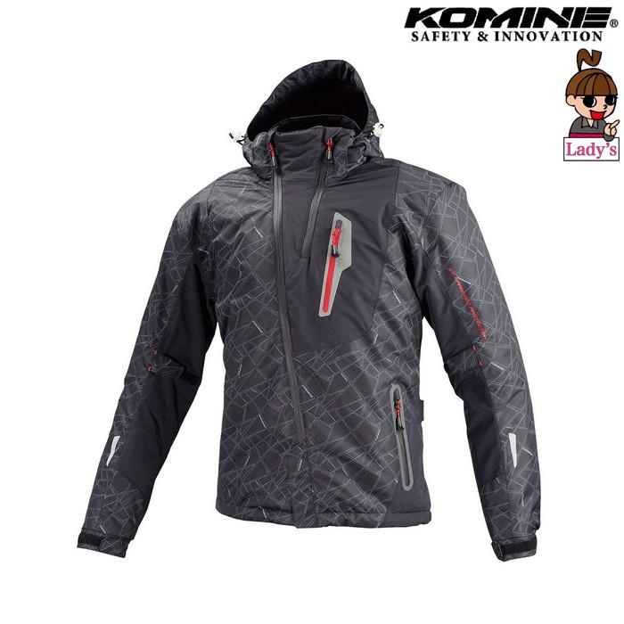 komine (レディース)JK-589 プロテクトウインターパーカ ジャケット ブラック ◆全6色◆
