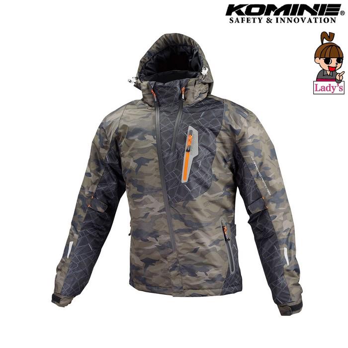 komine レディース JK-589 プロテクトウインターパーカ ジャケット カモフラージュ カモフラージュ◆全6色◆
