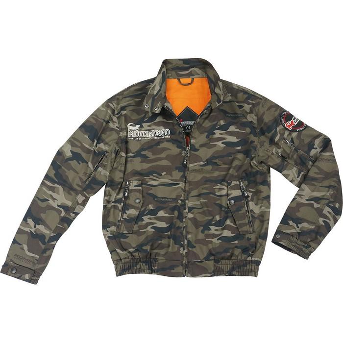 komine JK-591 プロテクトスイングトップジャケット カモフラージュ◆全5色◆