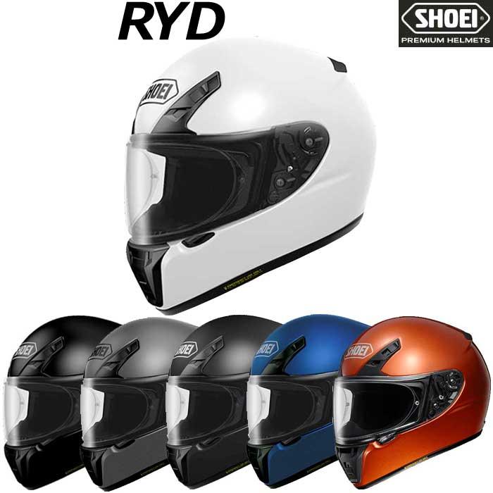 SHOEI ヘルメット 〔在庫限り〕RYD 【アールワイディー】 フルフェイス ヘルメット