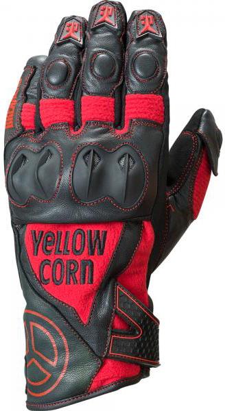 Yellow Corn YG-271W ウィンターグローブ レッド