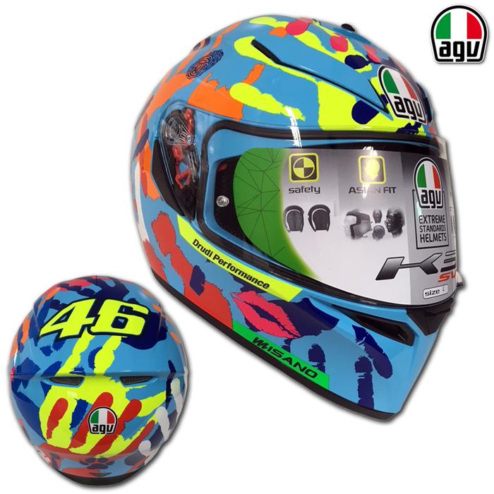 AGV 【WEB限定】K-3 SV MISANO[ミサノ] 2014 ロッシレプリカ