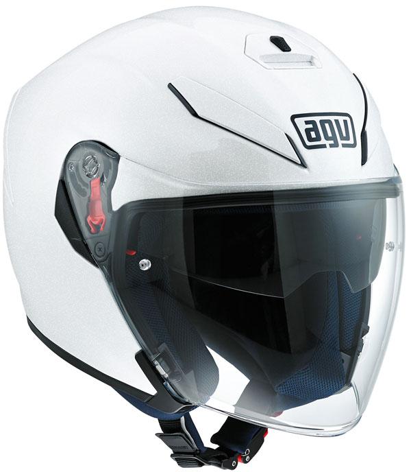 AGV K-5 JET フルフェイス ヘルメット PEARL WHITE/55-56cm(S)