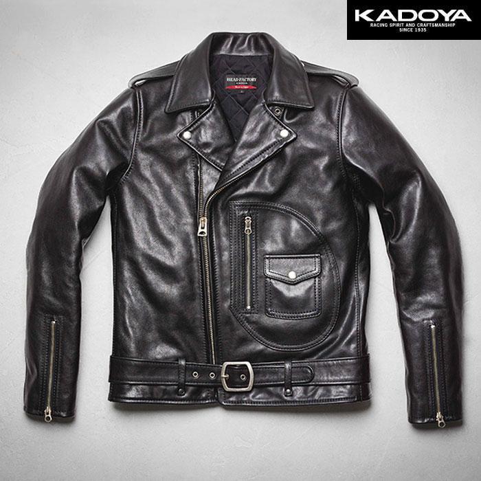 KADOYA 〔WEB価格〕【受注生産品】 【大きいサイズ】 AVDJ レザージャケット