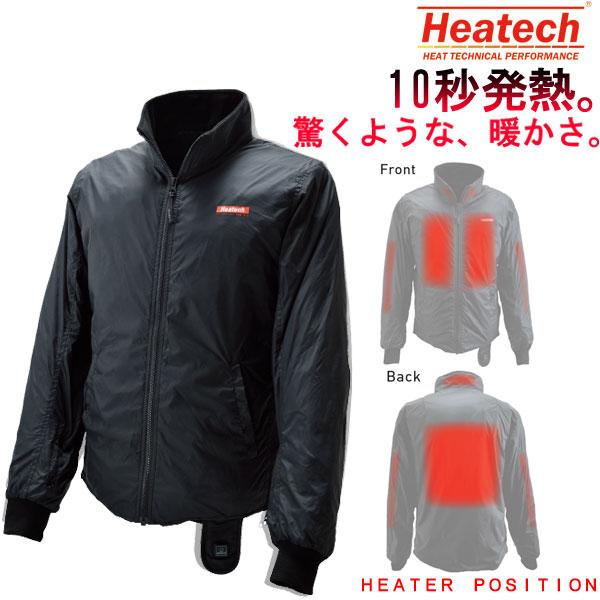 HEATECH 12Vヒートインナージャケット 3.5AMP 電熱 防寒 秋冬