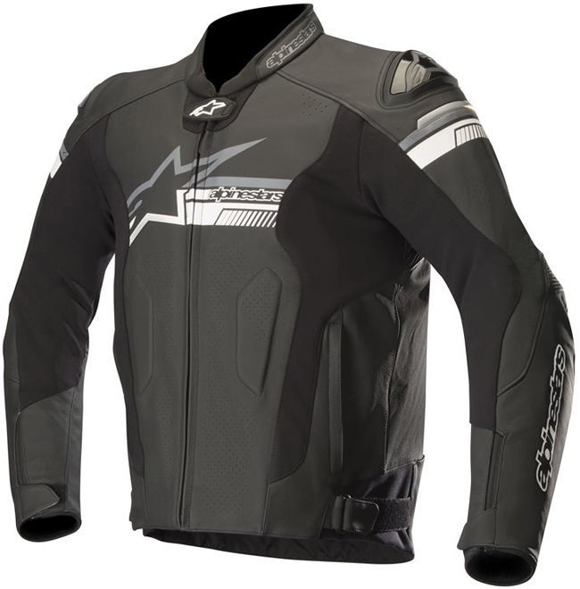 alpinestars FUJI AIRFLOW LEATHER JACKET BLACK