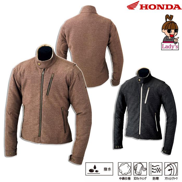 HONDA 【レディース】0SYTH-X38 シングルライダースジャケット