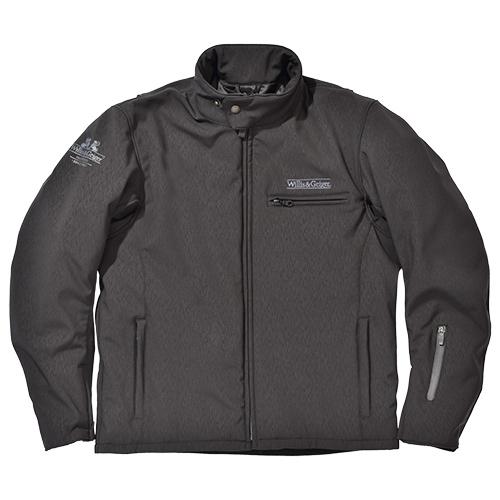 SKY ウィリス&ガイガー WGJ-703W ナイロンジャケット ブラック