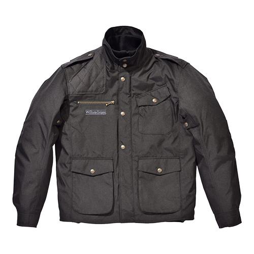 SKY ウィリス&ガイガー WGJ-701W ナイロンジャケット ブラック