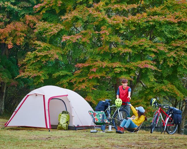 小川テント ステイシーネスト【軽量コンパクト】2~3人用ドームテント
