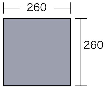 小川テント PVCマルチシート270×270